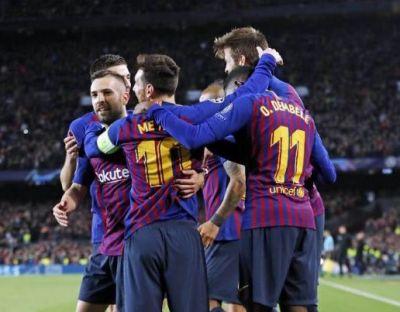 चैम्पियंस लीग : बार्सिलोना ने बनाई क्वार्टर फाइनल में जगह