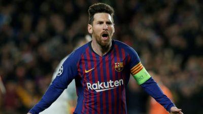 स्पेनिश लीग : मेसी की दमदार हैट्रिक की बदौलत जीता बार्सिलोना