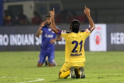 ISL: Kerala Blasters retire Sandesh Jhingan's No.21 jersey