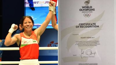 Mary Kom thanked World Olympic Association for giving her the title of 'OLY'