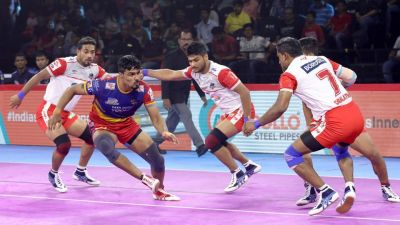 PKL 2019: UP Yoddha defeated Haryana Steelers