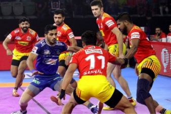 PKL 2019: Haryana beat Gujarat to make it to the playoffs