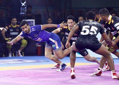 PKL 2019: Haryana Steelers defeat Telugu Titans