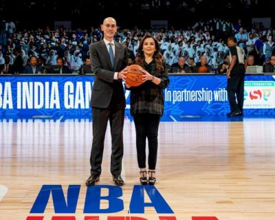 Reliance Foundation launches NBA match in India