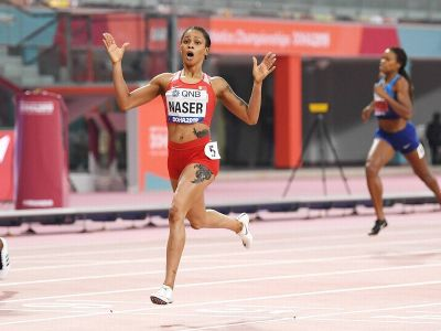 World Athletics Championships: Salwa Naser broke 34-year-old record