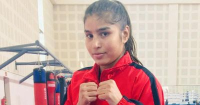 Manju Rani's strong punch to North Korean boxer Kin Hyang, she made it to the semi-finals