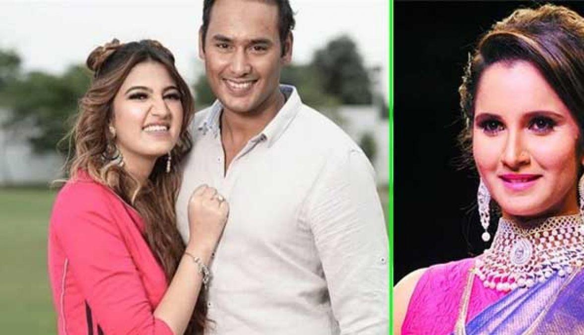 इस क्रिकेटर के बेटे की दुल्हन बनेंगी सानिया मिर्जा की बहन, ये है कार्यक्रम