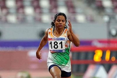National Open Athletics Championship : दुती चंद ने 100 मीटर दौड़ में जीता गोल्ड मेडल