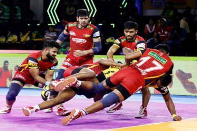 PKL 2019 : यूपी योद्धा ने बेंगलुरु बुल्स को दी करारी शिकस्त, दिल्ली शीर्ष पर बरकरार