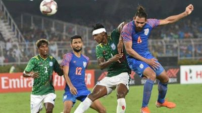 Football: Indian defender Adil Khan was the hero of the match between India and Bangladesh