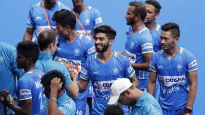 Coach is happy with the performance of Indian hockey team, expressed hope