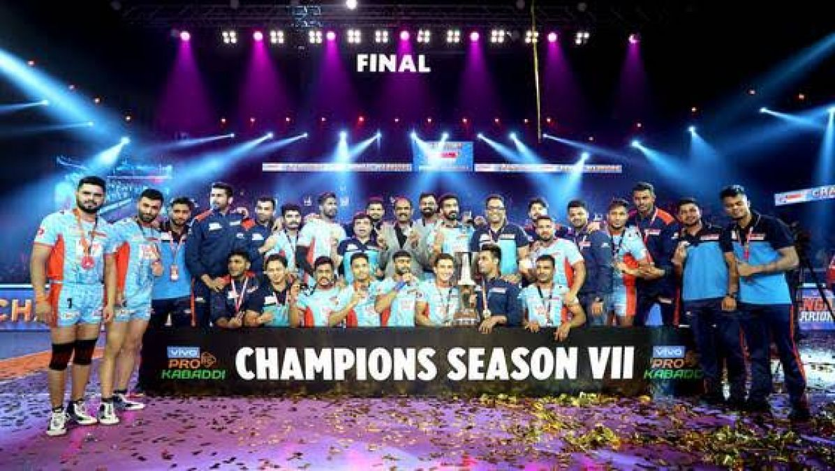 PKL FINAL 2019: Bengal becomes champions by defeating Dabang Delhi in a title match