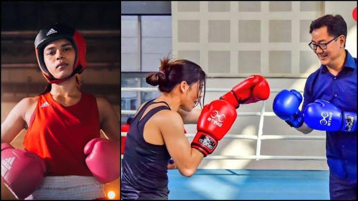 Kiren Rijiju Responds to Nikhat Zareen's complaint on Mary Kom Selection Controversy