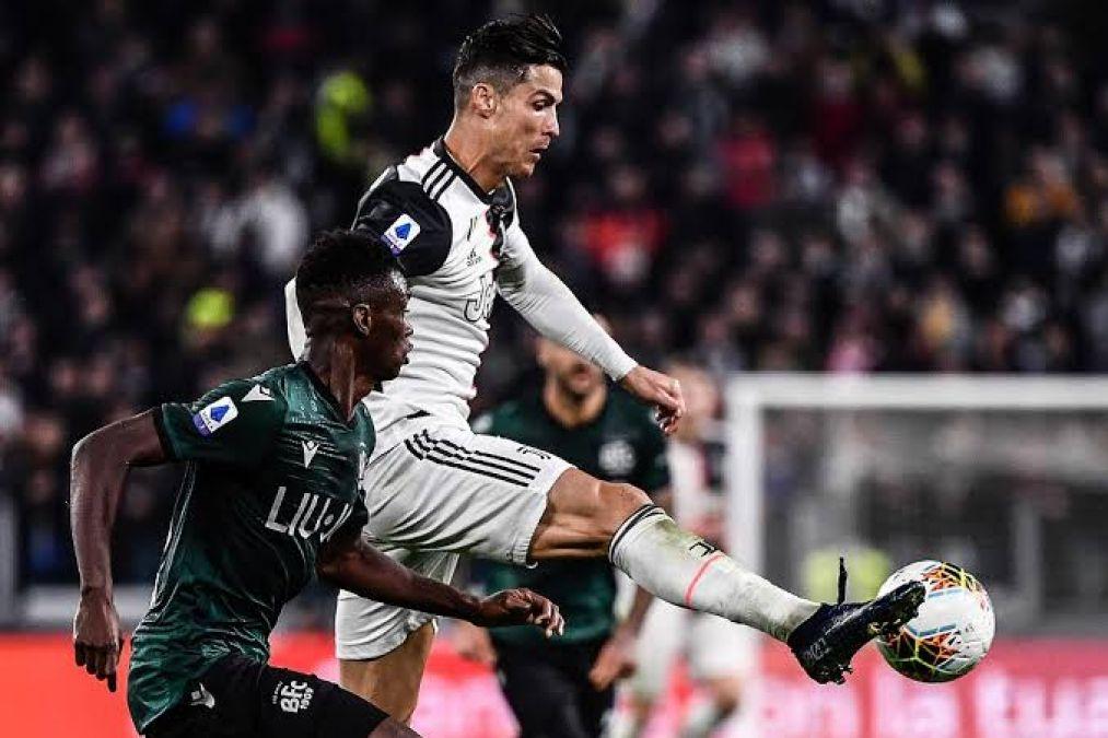 Cristiano Ronaldo scores 701st goal as Juventus seal 2-1 victory