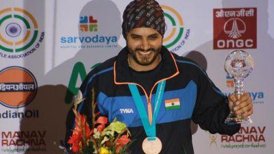 संग्राम दाहिया ने जीता शूटिंग में सिल्वर पदक