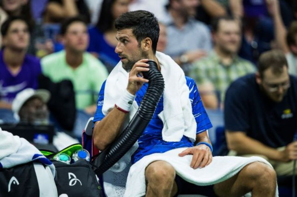 US Open: Djokovic confronted the fan during practice