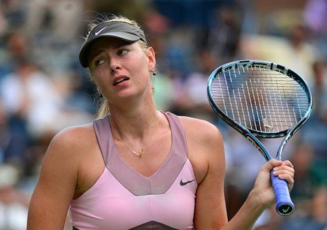 यूएस ओपन से बाहर हुई स्टार टेनिस खिलाड़ी मारिया शारापोवा
