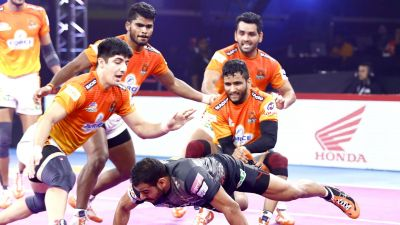 PKL 2019: Puneri Paltan, U Mumba play out a tie