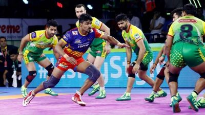 PKL 2019: Pardeep's defiant Super 10 goes in vain as U.P. Yoddha defeats Patna Pirates