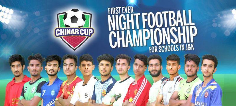 जम्मू कश्मीर: आतंक की घाटी में पहली बार होगा रात्रि फूटबाल टूर्नामेंट