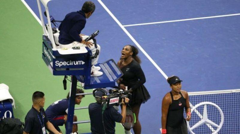 यूएस ओपन: फाइनल में सेरेना पर लगा चीटिंग का आरोप, सेरेना ने बताया लैंगिक भेदभाव