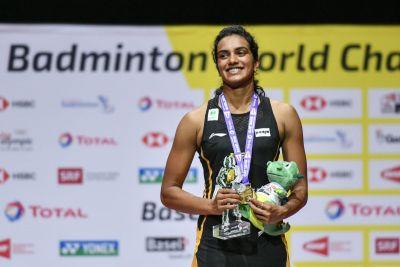 Sindhu credited new coach for winning World Badminton Championship