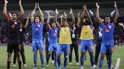 FIFA World Cup Qualifier: India performed brilliantly, stopped Qatar with draw