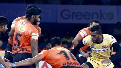 PKL 2019: U Mumba defeated Telugu Titans