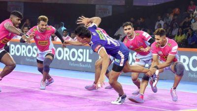 PKL 2019 : हरियाणा और जयपुर के बीच मुकाबला रहा टाई