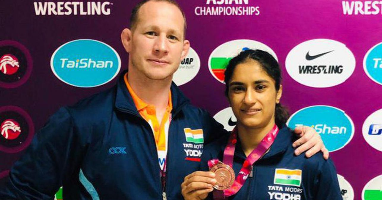 World Wrestling Championship: Vinesh's personal coach revealed this