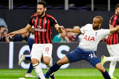 Tottenham and AC Milan performed brilliantly in Europa League qualifying