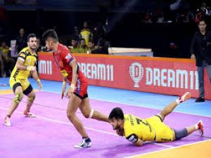 PKL 2019: Dabang Delhi defeated Telugu Titans and Jaipur pink panthers defeated UP
