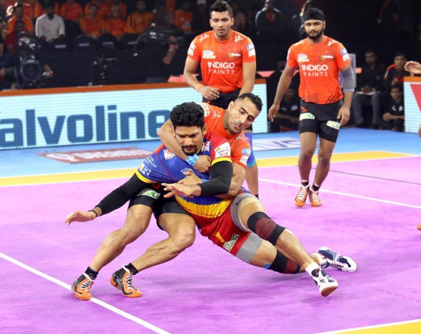 PKL 2019: U Mumba defeated UP Yoddha by a close margin