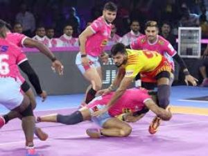 PKL 2019 :  गुजरात और जयपुर के बीच मुकाबला रहा टाई
