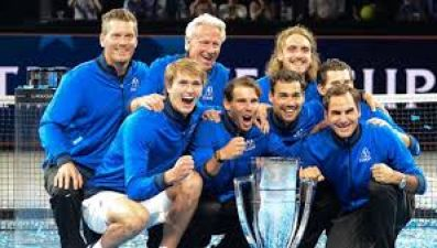 Laver Cup: Federer and Nadal's team won the title