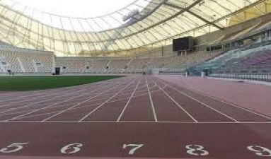 This player is working hard for the World Athletics Championship