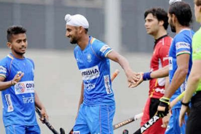 Indian hockey team defeated Belgium, won match with this difference