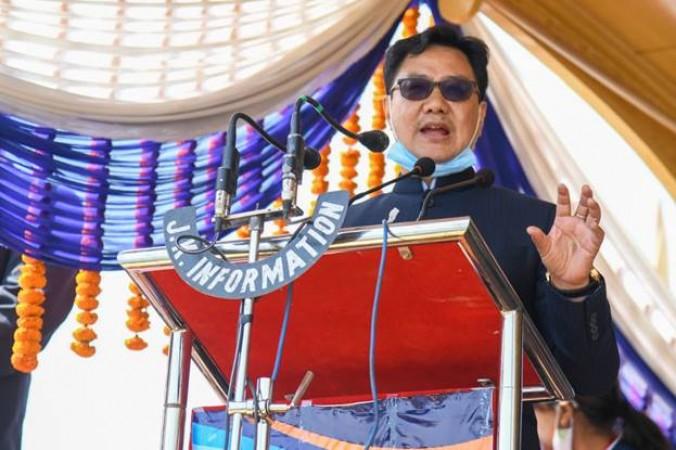 खेल मंत्री किरण रिजिजू ने जम्मू-कश्मीर में किया खेलो इंडिया स्टेट सेंटर ऑफ एक्सीलेंस का उद्घाटन