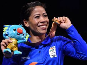 CWG 2018: The five-time world champion Mary Kom wins  gold
