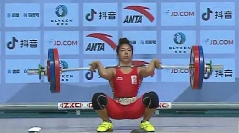 मीराबाई चानू ने एशियाई भारोत्तोलन चैम्पियनशिप में जीता कांस्य पदक