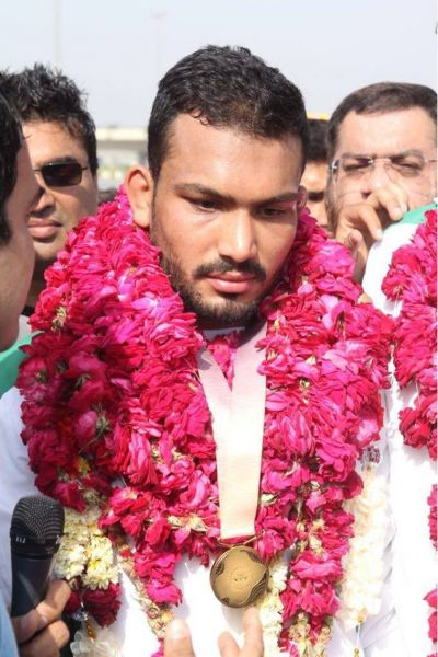 Pakistan's CWG Gold medallist wants to train with Sushil Kumar