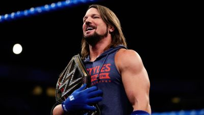 WWE Smackdown Live: Shinsuke Nakamura destroys the Club