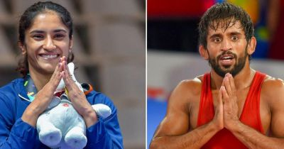 WFI recommends Vinesh Phogat, Bajrang Punia for Rajiv Gandhi Khel Ratna award