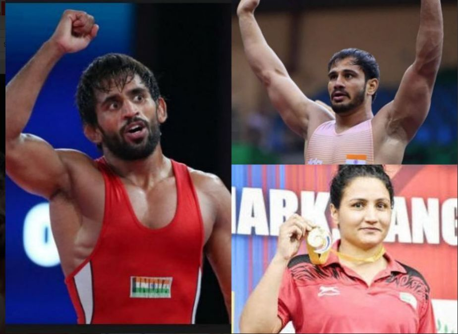 Indian Contingents headed back to home with winning 16 medals at Asian Wrestling Championships 2019