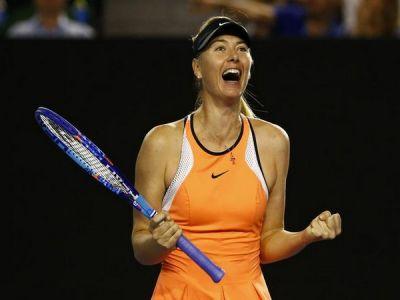 Sharapova advance to second round of Stanford Classic