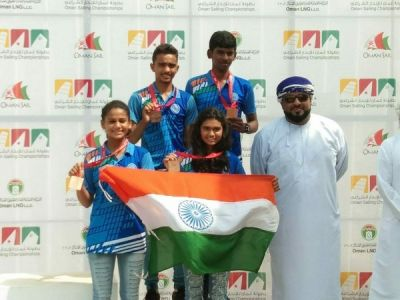 U-16 sailors win 5 medals in Oman Sailing Championship 2018