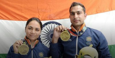 India wins its first medal in Asian games