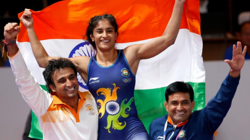 Asian Games 2018: India wins its second gold as Wrestler Vinesh Phogat defeats Yuki