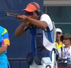 Asian Games 2018: India's Shardul Vihan wins a silver medal in men's double trap event