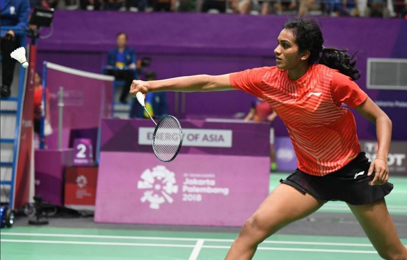 Asian Games :PV  Sindhu loses final to Chinese Taipei's Tai Tzu Ying 13-21, 16-21 to settle for silver